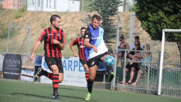 El SantCu B és l'equip de Sant Cugat més en forma del grup 6 de Tercera Catalana
