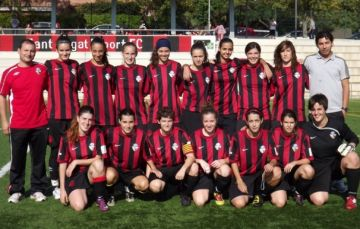 El SantCu femení inicia el seu camí a la Copa Catalunya amb el Barça a l'horitzó