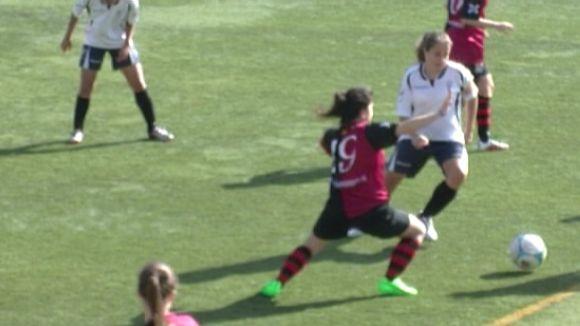 El SantCu femení s'acomiada de la temporada com a local amb una golejada davant el Xaica