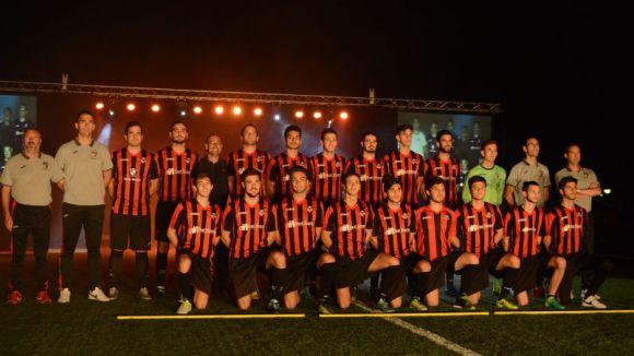 El Sant Cugat FC B guanya per la mínima l'Athletic Rubí, un dels candidats a l'ascens