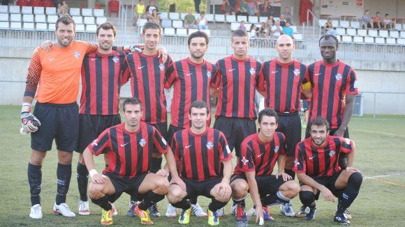 SantCu-Sabadell B, Mollet-Junior, penúltims amistosos