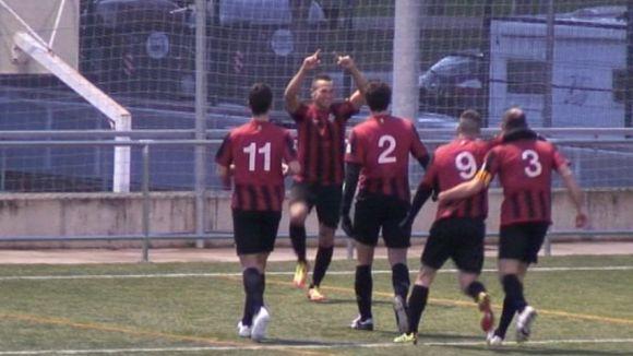 El Sant Cugat Esport torna a viure una victòria amb dos gols d'Abdul