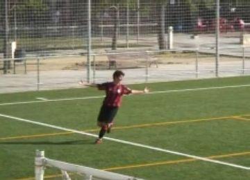 La davantera santcugatenca Marta Sagol marca un hatt-trick en el seu retorn a la Jaume Tubau