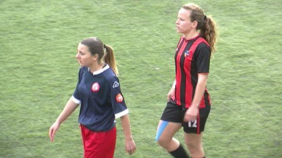 El femení del Sant Cugat FC rescata un punt contra la Fundació Atlètic Vilafranca