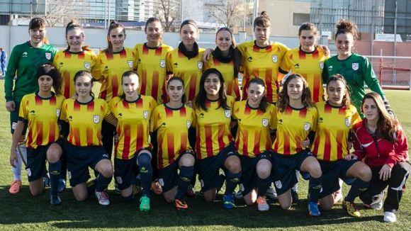 La selecció catalana femenina sub 16 accedeix a la fase final de l'Estatal