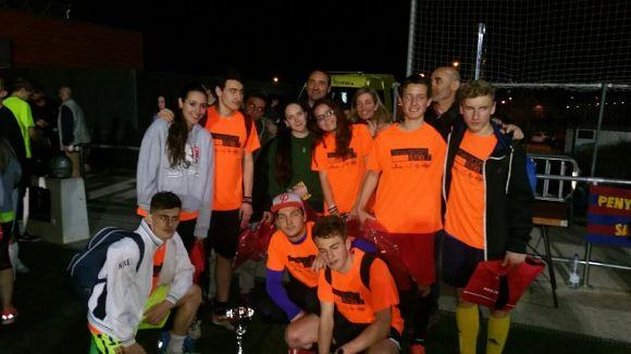 L'equip del Jabalisteam guanya el torneig de la Penya Blaugrana / Font: Penya Blaugrana
