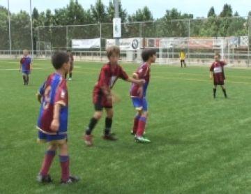 Els millors equips catalans benjamins i prebenjamins disputen el 29è torneig del SantCu