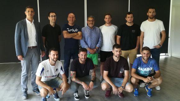 Representants dels quatre clubs que participaran a la 2a edició del torneig