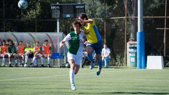 Imatge del partit / Foto: Valldoreix FC