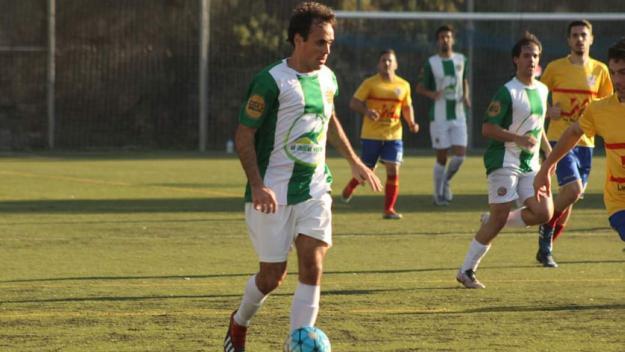 Mario, autor del segon gol valldoreixenc / Foto: Valldoreix FC