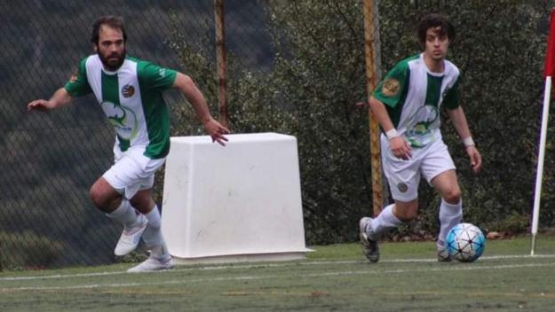 D'esquerra a dreta Manu i Nico Olóndriz / Foto: Valldoreix FC