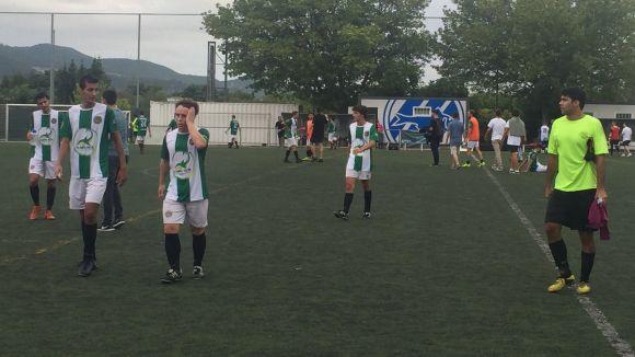 El Valldoreix FC cau per la mínima en un partit en que dóna la cara davant la UD Molletense