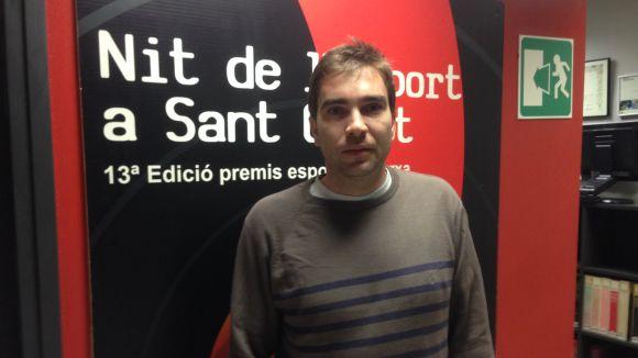 El capità de l'Olímpyc Floresta, Fernando Echevarría, a Cugat.cat