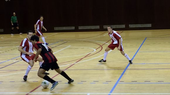 El Futbol Sala Sant Cugat pateix la primera derrota de la temporada a Sant Sadurní