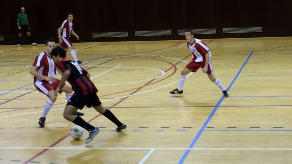 El Futbol Sala Sant Cugat s'endú l'intercanvi de cops contra el Molins 99
