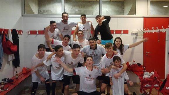 El juvenil A del FS Sant Cugat certifica l'ascens a Divisió d'Honor