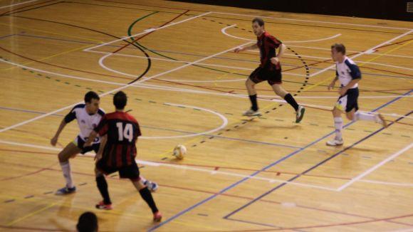 El Futbol Sala Sant Cugat es veu superat per l'Esparreguera tot i plantar cara