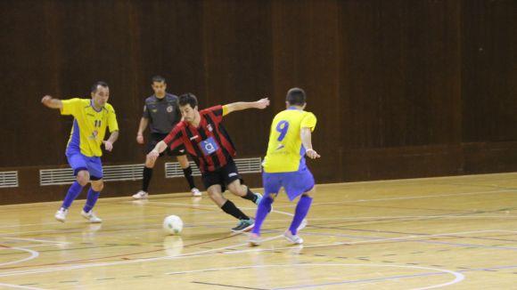 El Futbol Sala Sant Cugat guanya un ajustat partit a l'Aldea