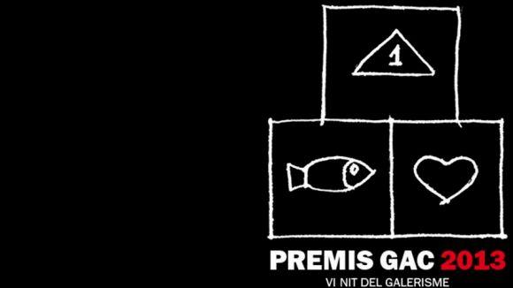 Imatge promocional de la VI Nit del Galerisme, Premis GAC