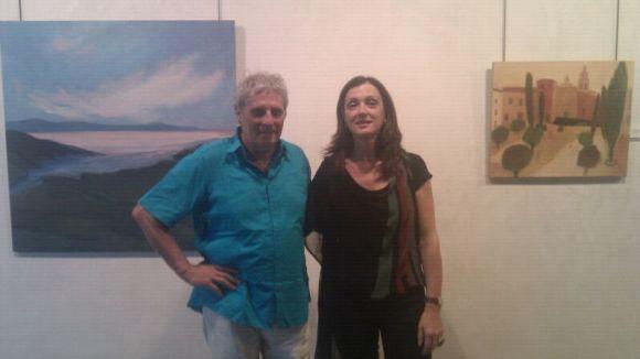 La Galeria exposa els paisatges més personals de Montse Casacuberta i Xavier Salvador