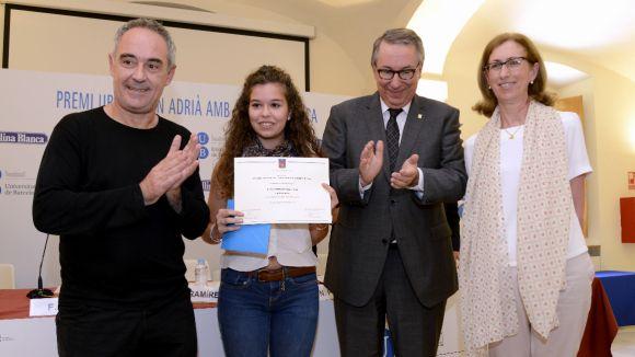 Premiat un treball sobre nutrició d'una estudiant de l'Arnau Cadell