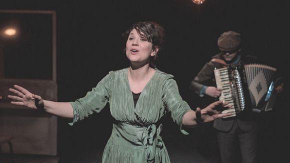 Garbiñe Insausti: 'Quan la paraula no és suficient, el personatge d'Édith Piaf canta'