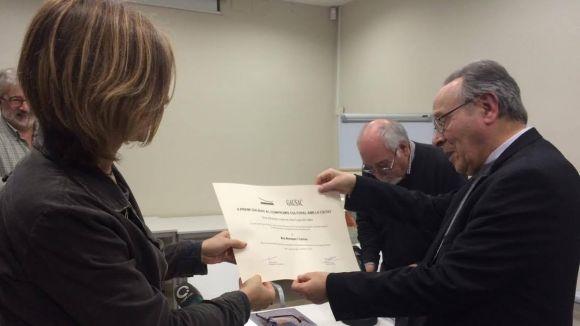 El GEL premia Blai Blanquer per la tasca de protecció del patrimoni cultural