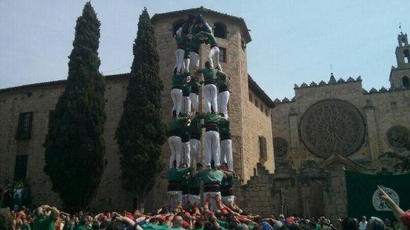 Els Gausacs descarreguen castells de 7 a Rubí en la primera actuació després de vacances