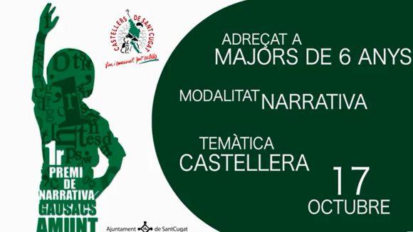 Els Castellers creen el nou concurs literari 'Gausacs Amunt'