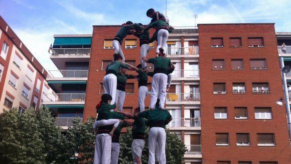 Les activitats complementàries de la diada castellera de Sant Cugat tindran lloc a la plaça de Can Quitèria