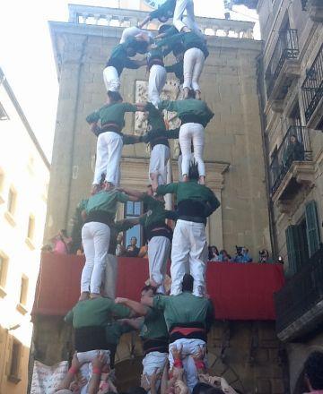 Els Gausacs consoliden els castells de 7 pensant de nou en els de 8