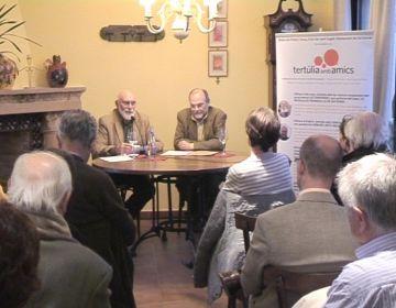 Prop d'una trentena de persones han assistit a la xerrada 'Ciències, Arts i Religions'