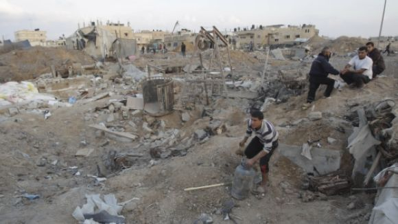Sant Cugat condemna els atacs de l'exèrcit israelià contra manifestants palestins a la Marxa del Retorn