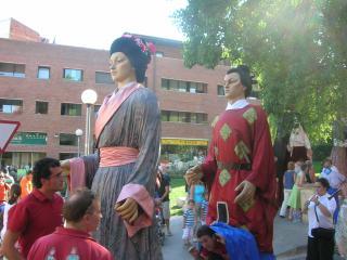 Èxit de participació a la trobada de geganters en el 20è aniversari de la colla de Sant Cugat