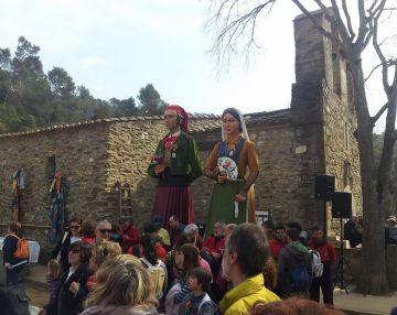 La celebració de Sant Medir llueix de nou després de dues edicions amb mal temps