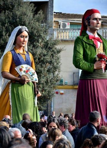 Els Geganters, pregoners de la Festa Major d'enguany
