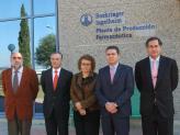 La consellera ha visitat les instal·lacions de la multincional farmacèutica Boehringer Ingelheim