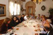 Marina Geli es va reunir amb els alcaldes de la comarca per conèixer les necessitats de la zona.