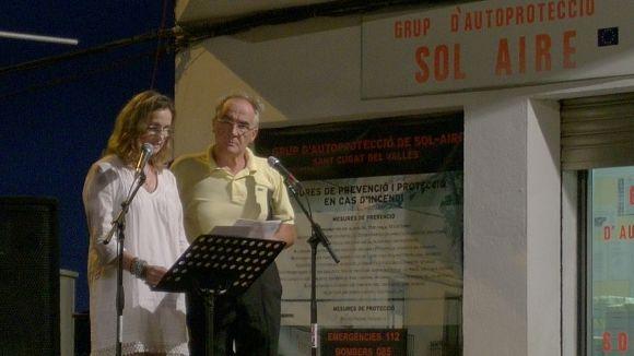 El pregó de la Festa Major de Sol i Aire subratlla els valors del barri