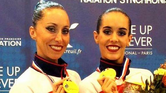 Gemma Mengual guanya la medalla d'or en l'Obert de França amb Ona Carbonell