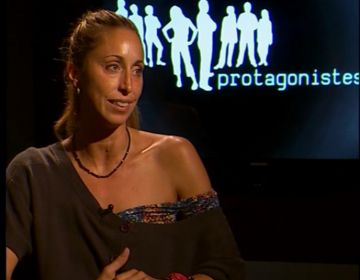 Gemma Mengual al plató de Cugat tv