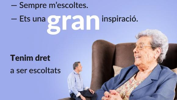 Setmana de la Gent Gran: Presentació de la campanya de bon tracte a la gent gran