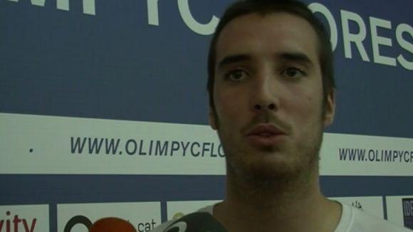 Casas: 'La part final de la temporada serà decisiva per aconseguir la permanència amb l'Olímpyc'