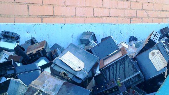 Endesa retira prop de 1.900 tones de residus al Vallès
