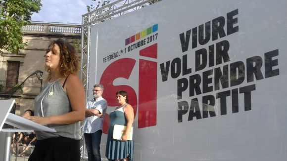 La CUP enceta a Sant Cugat la campanya nacional pel 'sí' a l'1-0 i reclama la mobilització de la ciutadania