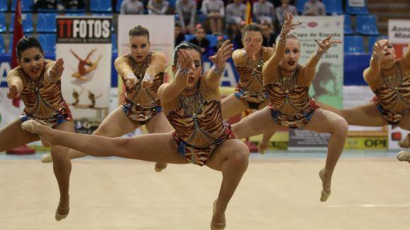 El Gimnàstica SC obté un bronze a la 3a Fase de la Copa d'Espanya d'estètica