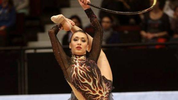 Natàlia Garcia se situa 34a després de la primera prova al Mundial de rítmica