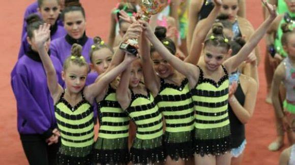 Les gimnastes del Muntanuenc es tornen a lluir a la final de la Copa Catalana