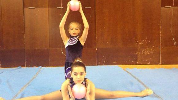 La 1a edició de la Gimnastriada supera les expectatives i reuneix més de 260 gimnastes