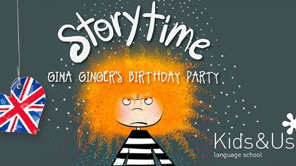 Hora del conte en anglès: 'Gina Ginger's Birthday'